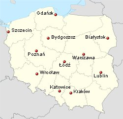 biggest Polish cities