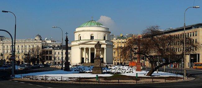 Warszawa i Plac Trzech Krzyży